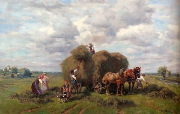The Hay Harvest